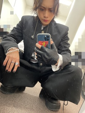 「The BrowBeat」配信LIVE 佐藤流司 自撮り写真